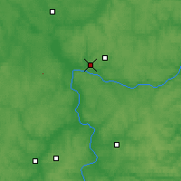 Nearby Forecast Locations - Kaluga - Mapa