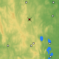 Nearby Forecast Locations - Polevskoi - Mapa