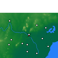 Nearby Forecast Locations - Vijayawada - Mapa