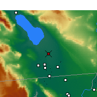 Nearby Forecast Locations - Brawley - Mapa