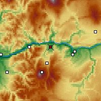 Nearby Forecast Locations - Hood River - Mapa