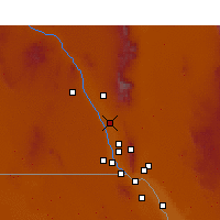 Nearby Forecast Locations - Mesquite - Mapa